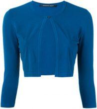 Antonino Valenti - Coprispalle con bottoncino - women - Polyester/Viscose - 42 - BLUE