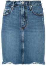 Nobody Denim - Siren Skirt Loud - women - Cotton/Spandex/Elastane - 24, 29, 30, 31, 32 - BLUE