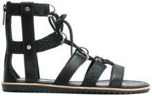 Sorel - Sandali modello gladiator - women - Leather/rubber - 5, 6, 7, 8, 9 - BLACK