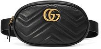 Gucci - GG Marmont matelassé belt bag - women - Leather/metal - 65, 75, 85, 95 - BLACK