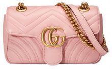 Gucci - Mini borsa 'GG Marmont' - women - Calf Leather/Suede - One Size - PINK & PURPLE
