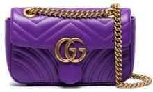 Gucci - Borsa a spalla - women - Leather - One Size - PINK & PURPLE