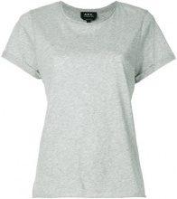 A.P.C. - T-shirt a girocollo - women - Cotton - XS, S, M, L, XL - GREY