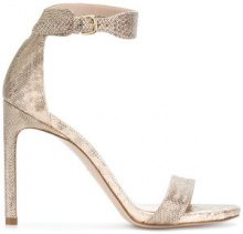 Stuart Weitzman - Sandali 'Backup' - women - Leather - 36, 37.5, 39, 40 - Color carne & neutri