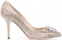 Dolce & Gabbana - Pumps 'Bellucci' - women - Leather - 39.5, 40, 40.5, 38.5 - NUDE & NEUTRALS