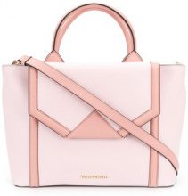 Karl Lagerfeld - Borsa Tote 'Klassik' - women - Leather - One Size - Rosa & viola