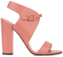Paul Andrew - Sandali con fibbia - women - Calf Leather/Leather - 36.5, 37, 37.5, 38, 39, 39.5, 40, 41 - PINK & PURPLE