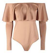 Vanesssa Long Sleeve Frill Bodysuit