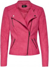 ONLY Leather Look Jacket Women Pink