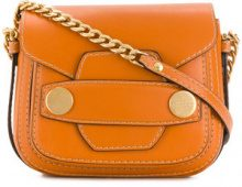 Stella McCartney - Borsa a spalla 'Stella Popper' - women - Polyurethane - OS - YELLOW & ORANGE