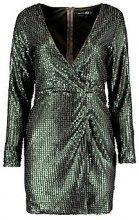 Boutique Marlin Sequin Wrap Bodycon Dress