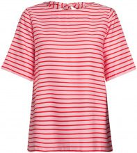 PIECES Striped 2/4 Sleeved Blouse Women Pink