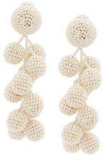 Sachin & Babi - Coconuts earrings - women - glass - OS - WHITE