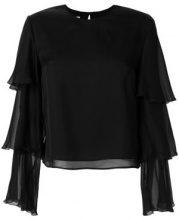 Dondup - T-shrit - women - Silk/Cupro/Spandex/Elastane - 44, 40, 42, 46 - BLACK