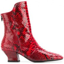 Dorateymur - Han boots - women - Python Skin/Leather - 35, 36, 37, 39, 40 - RED