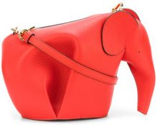 Loewe - Borsa Elephant mini - women - Leather - One Size - RED