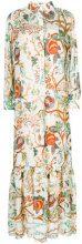 Alberta Ferretti - floral print shirt dress - women - Silk/Acetate/Spandex/Elastane - 40, 38, 42 - MULTICOLOUR