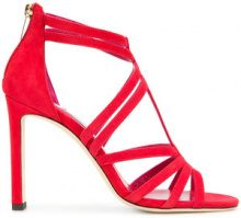 Jimmy Choo - Selina 100 sandals - women - Leather - 37, 39, 36, 37.5, 38, 38.5, 40 - RED