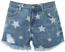Pantaloncini jeans con stelle