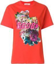 Golden Goose Deluxe Brand - T-shirt stampata - women - Cotton - S, XS, M, L - YELLOW & ORANGE