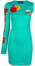 Dsquared2 - printed dress - women - Cotton - XS, S, M, L - BLUE
