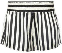 Morgan Lane - shorts Mini Mask Corey - women - Silk - M, L - BLACK