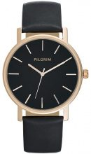 Pilgrim Orologio rose gold coloured/black