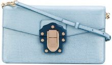 Dolce & Gabbana - Lucia shoulder bag - women - Leather - One Size - BLUE