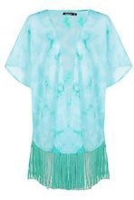Robyn Tie Dye Fringed Kimono