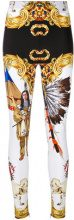 Versace - Leggings 'Native American - women - Polyamide/Spandex/Elastane/Acetate/Cotton - 46, 48, 38, 40, 42 - WHITE