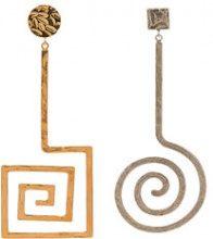 Jacquemus - Orecchini 'la spirale' - women - Metal (Other) - One Size - METALLIC