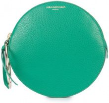 Sara Battaglia - Round clutch - women - Calf Leather - OS - GREEN
