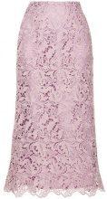 Cityshop - lace skirt - women - Polyester - 36 - PINK & PURPLE