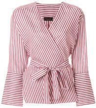 Roberto Collina - Camicia a portafoglio - women - Cotton/Linen/Flax/Silk - M, L - WHITE