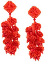 Sachin & Babi - Orecchini 'Grapes' con perline - women - glass - OS - Rosso