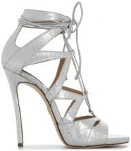 Dsquared2 - Sandali 'Tie Me Up' - women - Nappa Leather/Leather - 37, 38, 39, 40, 41, 36, 35, 37.5, 38.5, 39.5, 35.5, 36.5 - GREY