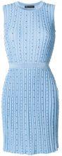 Versace - Abito di maglia - women - Viscose/Cotton - 40 - BLUE