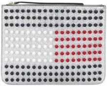 Hilfiger Collection - Pochette 'Tommy Icon Pearl Flag' - women - Leather - OS - METALLIC