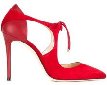 Jimmy Choo - Pumps 'Vanessa 100' - women - Goat Skin/Suede/Leather - 36, 36.5, 37, 38, 38.5, 40 - RED