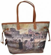 Borsa Shopping Y Not?  Borsa donna  319 Roma RRT shopping grande