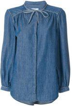 Closed - Camicia classica in denim - women - Cotton/Linen/Flax/Lyocell - XS, S - BLUE