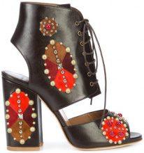 Laurence Dacade - Romeo sandals - women - Calf Leather/Pietra - 36.5, 37, 37.5, 38, 38.5, 39 - BROWN