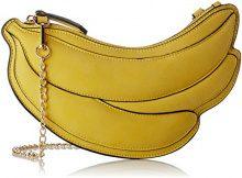 Lollipops Banana Clutch Banane - Borse a spalla Donna, Giallo (Yellow), 1x13x27 cm (W x H L)
