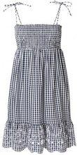 Tory Burch - convertible gingham beach dress - women - Cotton/Polyester - XS - BLUE