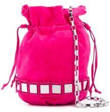 Tomasini - Borsa a tracolla 'Lucile' - women - Calf Leather - OS - PINK & PURPLE
