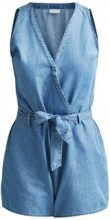 VILA Denim Playsuit Women Blue