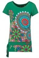 DONNA - T-shirt con stampa - verde nantes