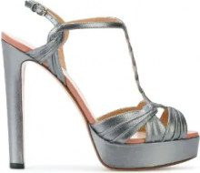Francesco Russo - Sandali con fibbia - women - Calf Leather/Leather - 36.5, 37, 37.5, 38.5, 39, 39.5, 38, 40, 36, 40.5, 41 - GREY