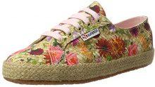 Superga Superga2750 Fabricfanplropew - Scarpe da Ginnastica Basse Donna, Multicolore (Mehrfarbig (Weaving Natural)), 38 EU