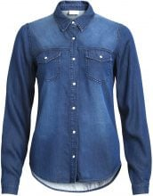 VILA Vibista - Denim Shirt Women Blue